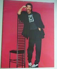 LIONEL RICHIE 1986 TOUR PROGRAM BOOK