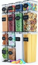 Chef's Path Airtight Food Storage Container Set - 14 Pc - Kitchen & Pantry Organ