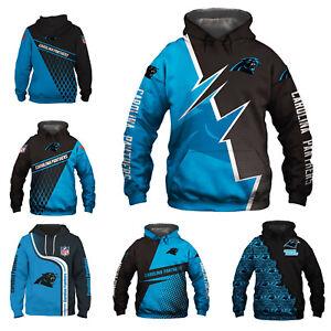 Carolina Panthers Hoodie Pullover Hooded Sweatshirt Football Sport Jacket Gifts