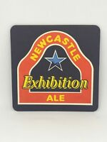 Vintage Newcastle Ale Exhibition Beer Coaster Bar Decoration Man Cave