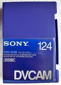 Sony PDV-124N Digital Video Cassette DVCAM