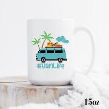 Travel Van Life Enamel Camping Mug Gift For Camper Retro Van Camper Mug Outdoor