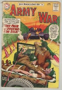 Our Army at War #131 June 1963 G