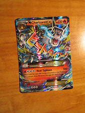 EX MEGA Pokemon M CHARIZARD EX Card GENERATIONS Set 12/83 XY 20th Anniversary