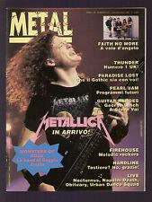 METAL SHOCK 127/1992 SONIC YOUTH STEVE VAI METALLICA IRON MAIDEN BLACK SABBATH