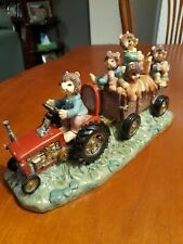 """Immaculate Vintage Regency Fine Arts Country Tales """" Harvest Time"""" Resin..."""