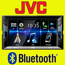 "JVC Voiture/Van CD DVD USB double din 2DIN stéréo Bluetooth iPod iPhone 6.2"" LCD"