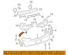 TOYOTA OEM 07-11 Yaris Rear Bumper-Side Support Left 5257652091