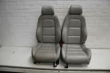 Audi TT 8N Heated Front Seats Pair Silver #1