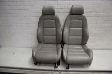 Audi TT 8N Heated Front Seats Pair Silver #1
