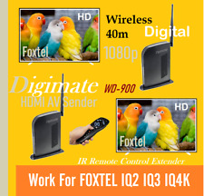 Crystal Picture HD Digital 1080p HDMI Wireless AV Sender Receiver/Foxtel IQ2 3 4