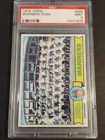 1979 Topps #659 Mariners Team, PSA 9 / MINT