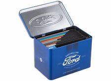 2017 AUSTRALIA FORD SET 12 x 50 CENTS COINS- COMPLETE CLASSIC COLLECTION IN TIN