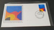 Australia 1983 Australia New Zealand closer economic relationship Stamp Fdc