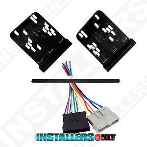 Metra 95-5817 Car Stereo Double Din Radio Install Dash Kit & Wires for Ford