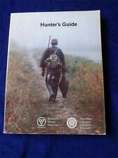 HUNTERS GUIDE MINISTRY OF NATURAL RESOURCES ONTARIO FEDERATION ANGLERS HUNTERS