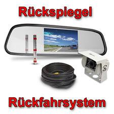 Rückfahrsystem Rückfahr System Kamera Camera Set Rückfahrcamera mit Rückspiegel