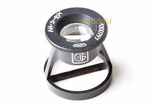 BelOMO 10x Loupe Magnifier with Scale. LI-3-10x. BRAND NEW.