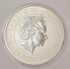 2012 Australia $30 Koala 1 Kilo .999 Silver Coin