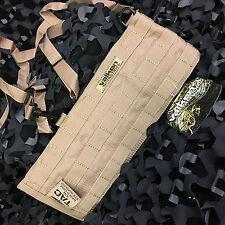 NEW Valken V-Tac Molle Harness Paintball Belt w/ Suspenders - Tan - Small/Medium
