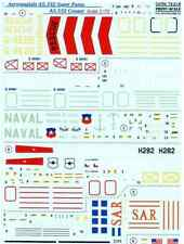 DECAL FOR AS.332 SUPER PUMA, AS.532 COUGAR 1/72 PRINT SCALE 72-218