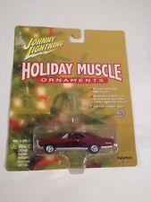 Johnny Lightning Holiday Muscle Ornaments 67 Pontiac GTO