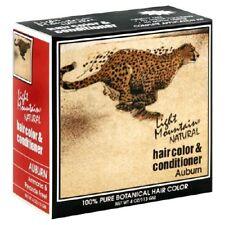 LIGHT MOUNTAIN HENNA Hair Color Auburn 4 OZ