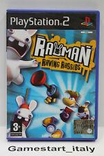 RAYMAN RAVING RABBIDS (PS2) PLAYSTATION 2 - VIDEOGIOCO USATO FUNZIONANTE - PAL