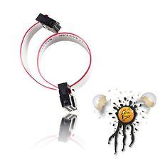 AVR TPI JTAG openOCD ST Link ISP USBASP seriell Kabel 10 polig serial Cable 20cm