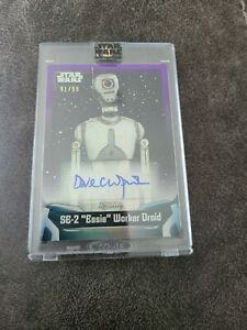 "SE-2 ""Essie"" Worker Droid Dave Chapman Puppeteer Star Wars Signature Series Auto"