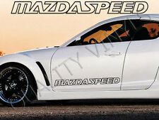 P40 Mazdaspeed Porte Logo 2 3 5 6 7 8 RX7 RX8 MX MX5 323 Graphics Decal Stickers