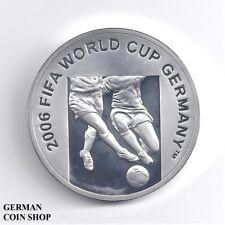 Aserbaidschan 50 Manat 2004 FIFA World Cup 2006 Silber PP Fußball - Azerbaijan