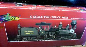 G Scale Bachmann Spectrum 81198 36 ton 2-Truck Shay Ely-Thomas Lumber