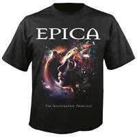 OFFICIAL LICENSED - EPICA - THE HOLOGRAPHIC PRINCIPLE T SHIRT METAL