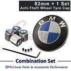 82MM BMW BMW Logo Emblem Hood Anti-thelf Wheel Tyre Valve Cap E39 E46 E60 E38 X5