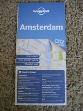 Lonely Planet, Amsterdam, City Map