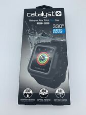 Catalyst Waterproof Apple Watch Case 42mm - Series 2 3 - Black