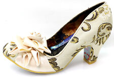 Irregular Choice Damen Pumps Schuhe Mehrfarbig Blumen Rockig Patchwork Gr.38