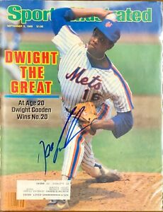 Dwight Doc Gooden Signed Sports Illustrated 9/2/85 Issue SI MLB NY Mets Cy Young