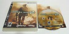 cib Call of Duty: Modern Warfare 2 ps3 COD MW3 (PlayStation 3, 2009) complete