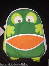GAP KIDS GIRLS boy unisex LUNCH BOX LUNCH bag lunchbox frog NEW