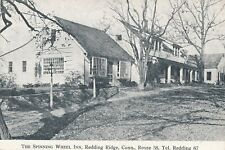 REDDING RIDGE CT – The Spinning Wheel Inn