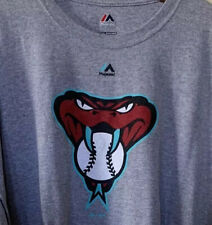 Majestic Arizona Diamondbacks Vintage T-Shirt Men's Size 2XL XXL