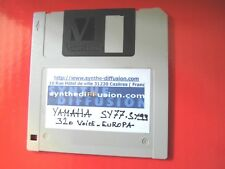 YAMAHA SY-77 SY99 720 K° Floppy format 320 Voice Library European collection */*