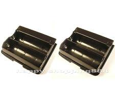 2 x GA-23, Battery Case for Yaesu VX-6R/7R, FBA23,vertex stand,horizon, FBA-23