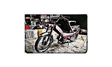 Batavus Motorbike Sign Metal Retro Aged Aluminium Bike