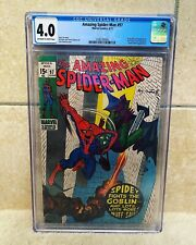 Amazing Spider-Man #97 CGC 4.0 - Drug Story Not CCA Approved 1971 GREEN GOBLIN