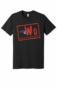 New England Patriots NWO T-shirt Black NFL Football Team 2021 Funny Gift vintage