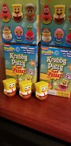 Spongebob Squarepants Weeble Wobble Mini Figure Collectible