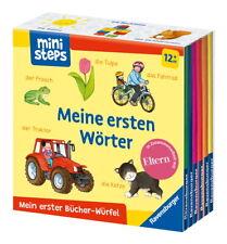 Ravensburger ministeps Buch Mein erster Bücher-Würfel Meine ersten Wörter 31771